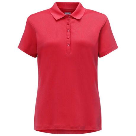 Callaway Ladies Micro Hex Polo - Tango Red
