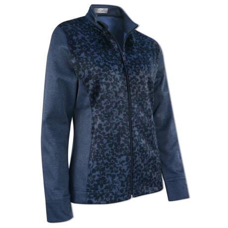 Callaway Ladies Floral Mid-Layer Jacket with Fleece Lining