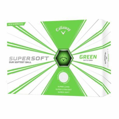 Callaway Supersoft Green Golf Labda