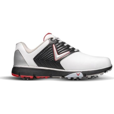 Callaway Chev Mulligan S Golf Shoes White/Black/Red