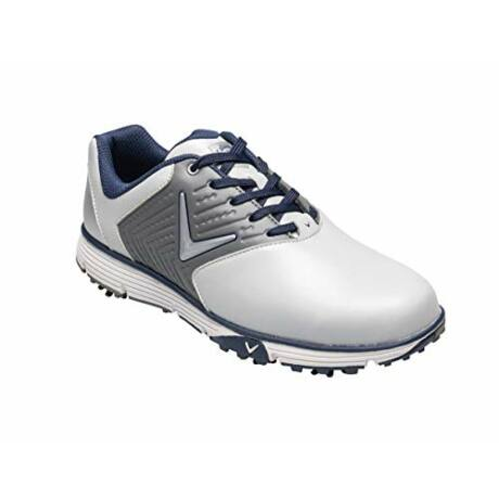 Callaway Chev Mulligan S - White and grey Golf Shoes