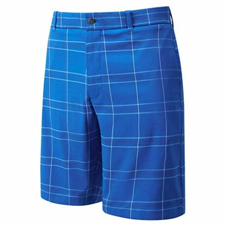 Callaway Golf Large Plaid Blue Short