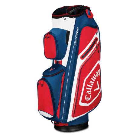 Callaway Chev Org 2019 Cart Bag - Navy/White/Red