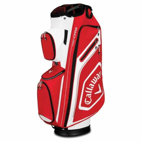 Callaway Chev Org 2019 Cart Bag - Red/White/Black
