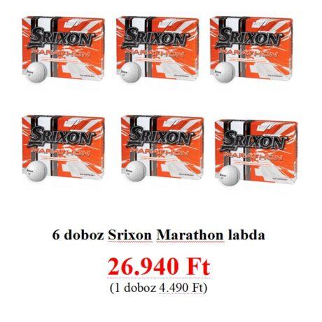 Srixon marathon 6 doboz labda
