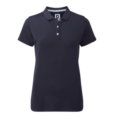 FootJoy Stretch Pique Solid Shirts Women Navy