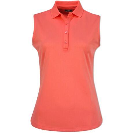 Callaway Swing Tech Sleeveless Womens Polo Shirt Dubarry