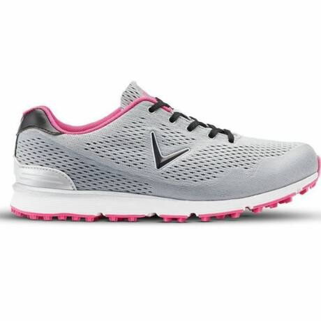 Callaway Solaire Grey Spikeless Golf Shoes