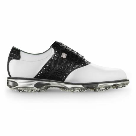 FootJoy DryJoys Tour black/white golf shoes WIDE