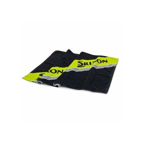 Srixon Tour Towel fekete-zöld színben
