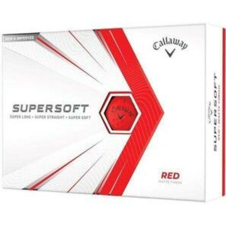 Callaway Supersoft 21 Piros Golf Labda