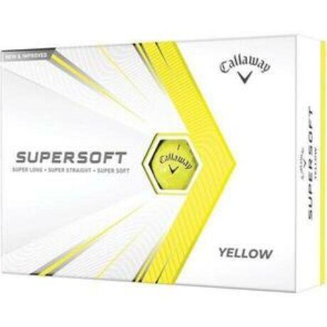 Callaway Supersoft 21 Sárga Golf Labda