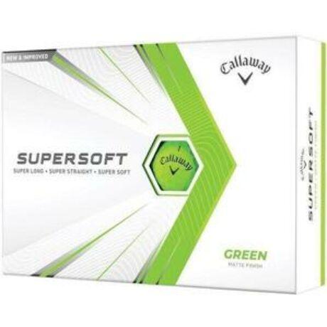 Callaway Supersoft 21 Zöld Golf Labda